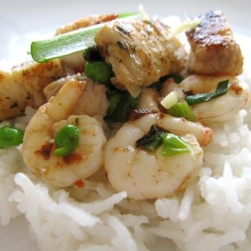 Riba s povrćem iz woka (i par savjeta za pripremu egzotičnih vrsta riže)