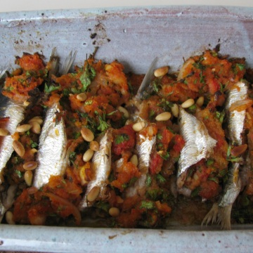 Stuff – roll – bake: Sardines