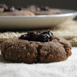 Husarski kolačići od heljde i badema s pekmezom od suhih šljiva
