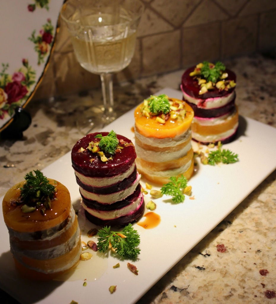 Salata from cvekle i tortice from cvekle 025