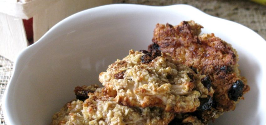 Soft Quinoa and Apple Cookies