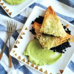 Asian-inspired Leek Pies