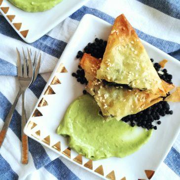 Pite od poriluka s đumbirom i sezamom