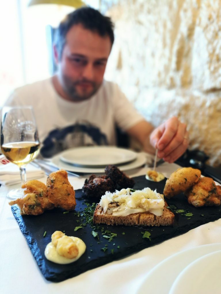 Plata bakalara - culinary postcards
