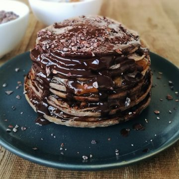 Best Buckwheat Pancakes (Mini Sacher Crêpes Cake)