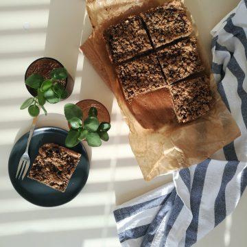 Fig Jam Crumble Bars (V)