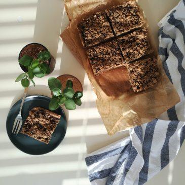 Mrvičaste kocke s pekmezom od smokava (V)