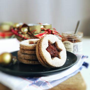 Linzer Cookies (V, GF)