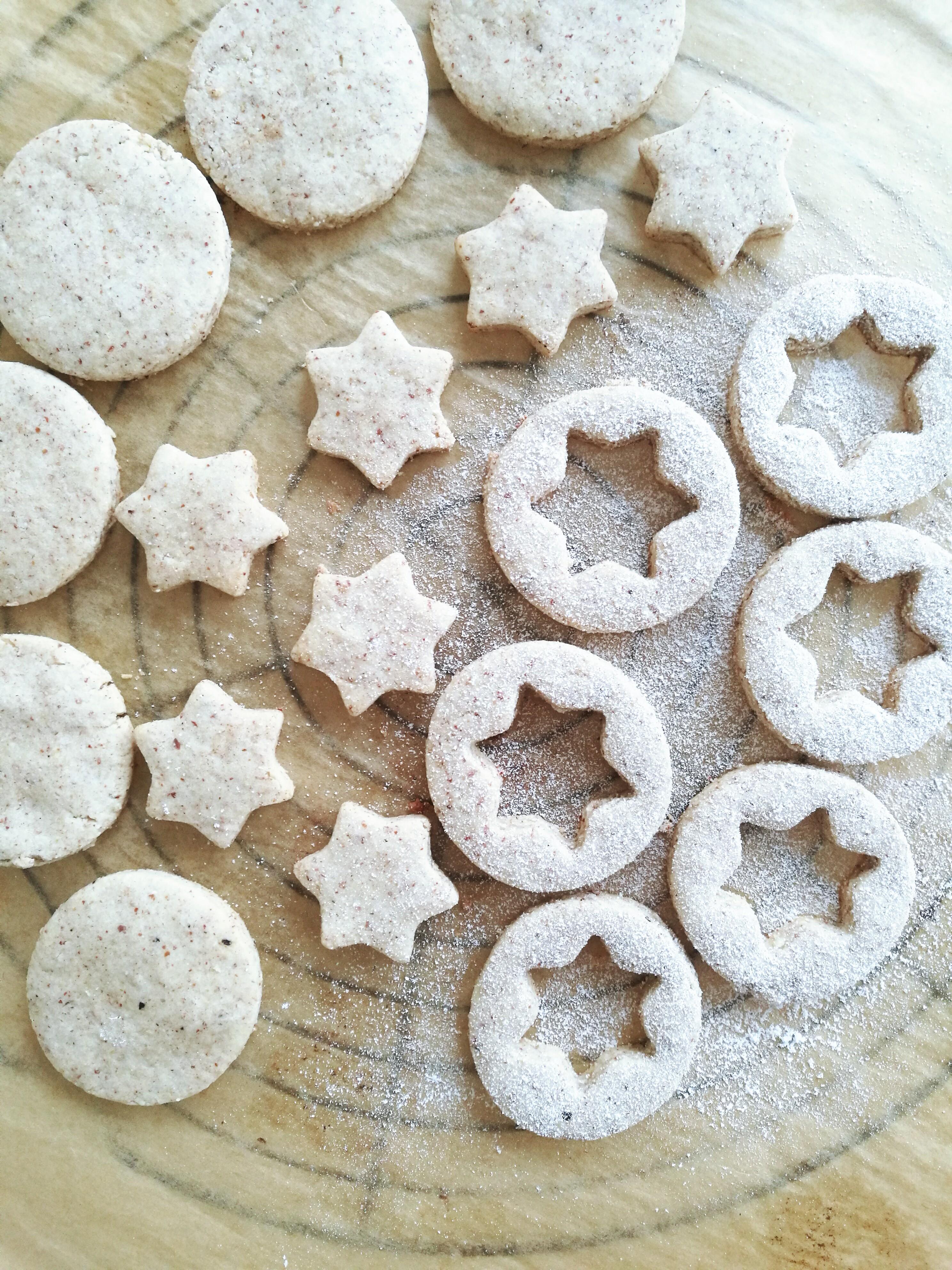 Vegan and GF Linzer Cookies_preparation