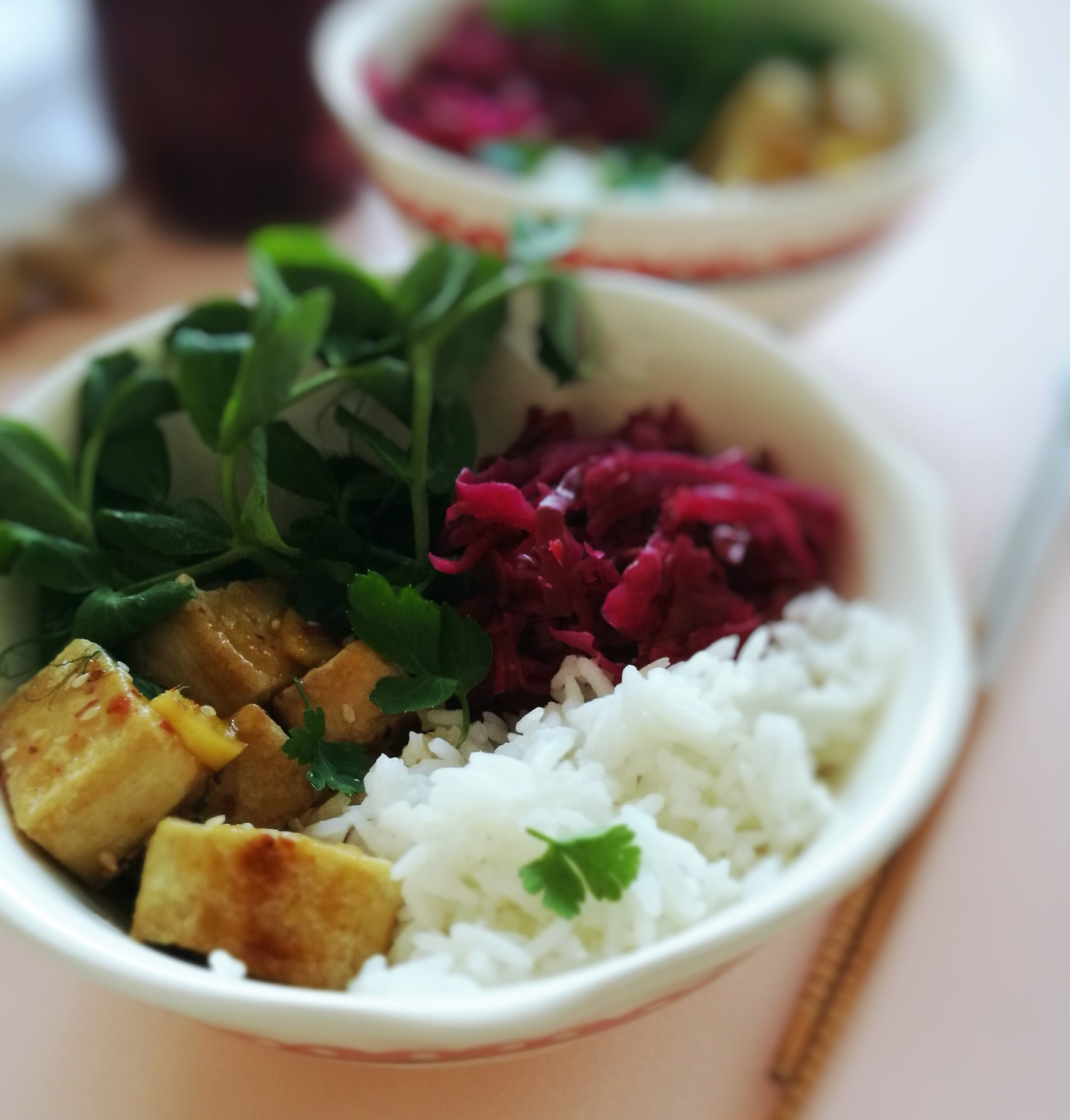 culinary postcards_buddha bowl with hot crispy tofu