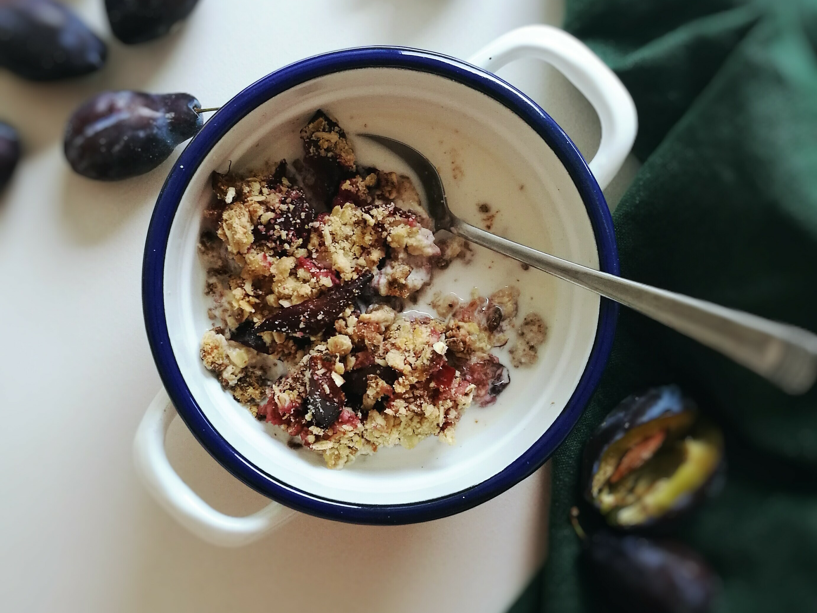 Plum Crumble {V+GF}