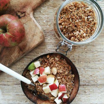 Sesame Coconut Granola {V+GF}