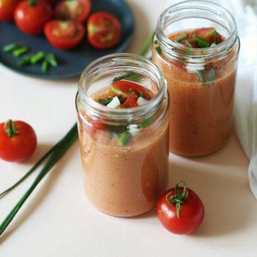 Gazpacho – hladna juha od rajčice {V, GF}